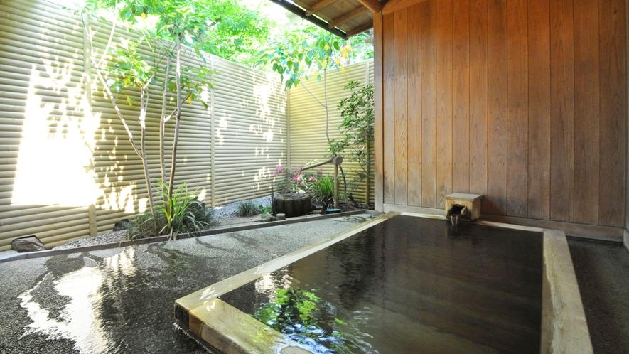 【源泉かけ流し貸切風呂】空いていれば24時間無料でご利用頂けます。