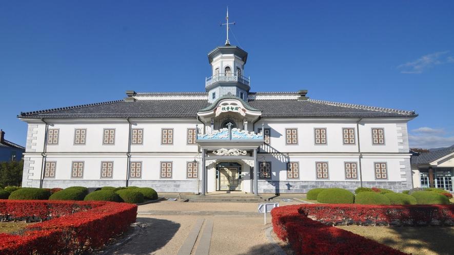 【国宝旧開智学校】令和元年9月国宝に指定されました。松本城より徒歩2分