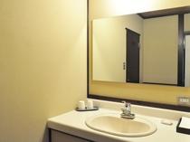 【部屋】洗面台。全室共通です。