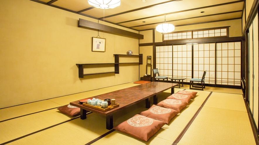 【和室17畳】1階にございます。お風呂に一番近い客室です。