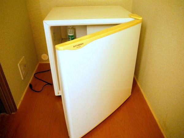 冷蔵庫も各部屋ございます