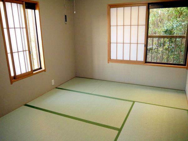 静かな和室6畳のお部屋♪