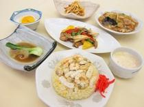 【夕食の一例】夕食スタンダードの創作中華コース