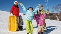 スキーデビューは池の平ホテルで決まり