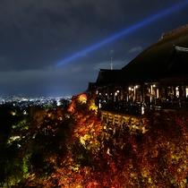 ■清水寺 ライトアップ