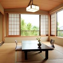 【客室例/筑波】一室毎に異なる趣のお部屋となっております。