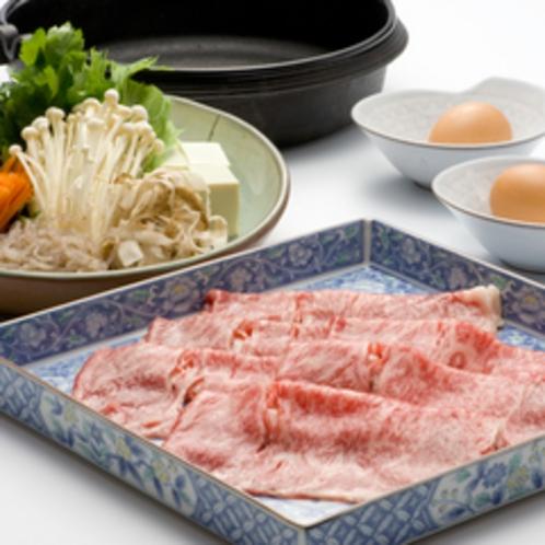 【常陸牛すき焼き】上質なお肉を贅沢にすき焼きで♪