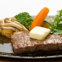 【常陸牛ステーキ】お肉そのものの味をしっかり楽しめます!