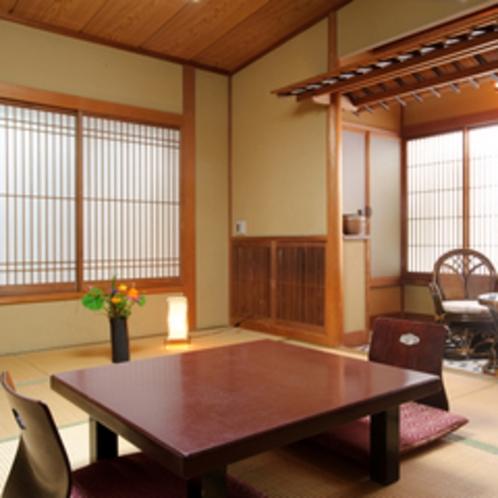 【客室例/嵯峨野】お部屋でのんびり癒しの時間をお過ごしください。
