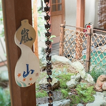 【和室/嵐山】笠間焼のあたたかみのある表札もお部屋ごとに違います。