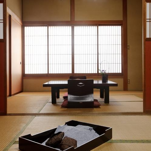 【客室例/東山】京都の祇園のお茶屋をイメージしたお部屋です。