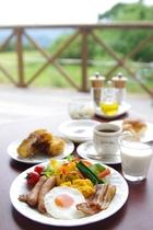 朝食ビュッフェ盛付けイメージ