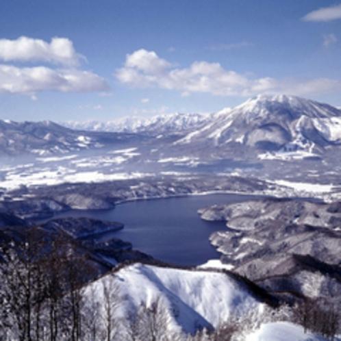 *野尻湖(冬)