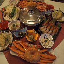 【えびしゃぶ堪能】5つの得典付★えびしゃぶ&紅ズワイ蟹の御膳和食プラン♪