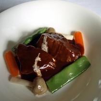 和牛ほほ肉のビーフシチュー
