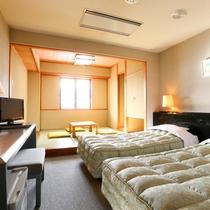 ■【本館・和洋室20平米】のお部屋です。和室もあるのでゆったりお過ごしいただけます。