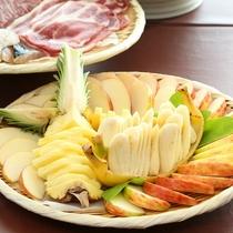 ■当館オリジナルのデザート天ぷらも大好評♪