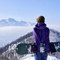 ■山頂からの絶景も楽しめます