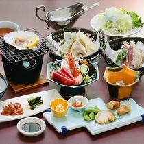 ■ご夕食の和食御膳です。旬の味をご堪能ください。