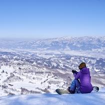 ■晴れた日のスキーは最高に気持ちいい!