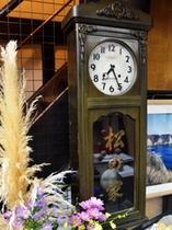 現役の柱時計