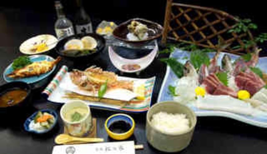 季節の満喫プラン ご夕食一例です。