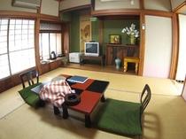 文化財の和室6畳間