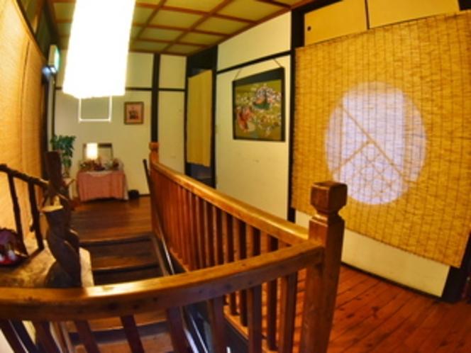 松の家本館の内部
