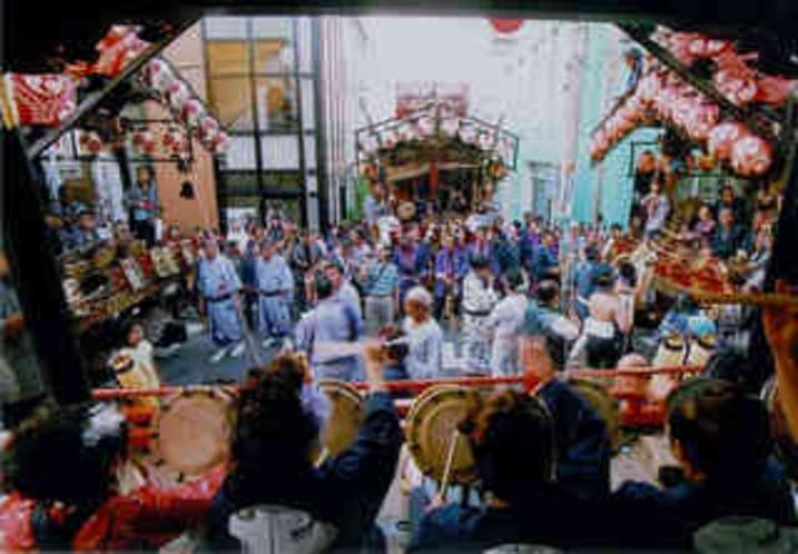 市文化財の4台の屋台