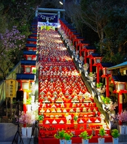 かつうらビッグひな祭り(遠見岬神社)
