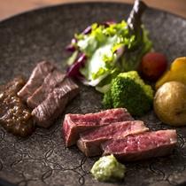 ◆蓼科 山キュイジーヌ:肉料理