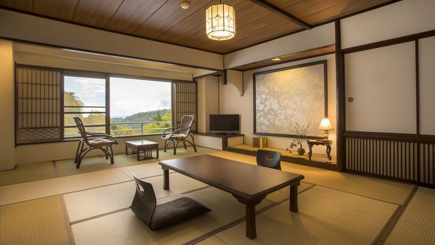 清流亭◆四季の美しい姿を愉しめる眺望抜群の渓流側のお部屋