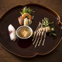 ◆ご夕食 蓼科山キュイジーヌ:お口はじめ
