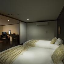 ■ユニバーサルデザインタイプ351号室 ベッド