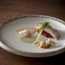 ◆蓼科 山キュイジーヌ:魚料理