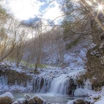 ◆冬の大滝