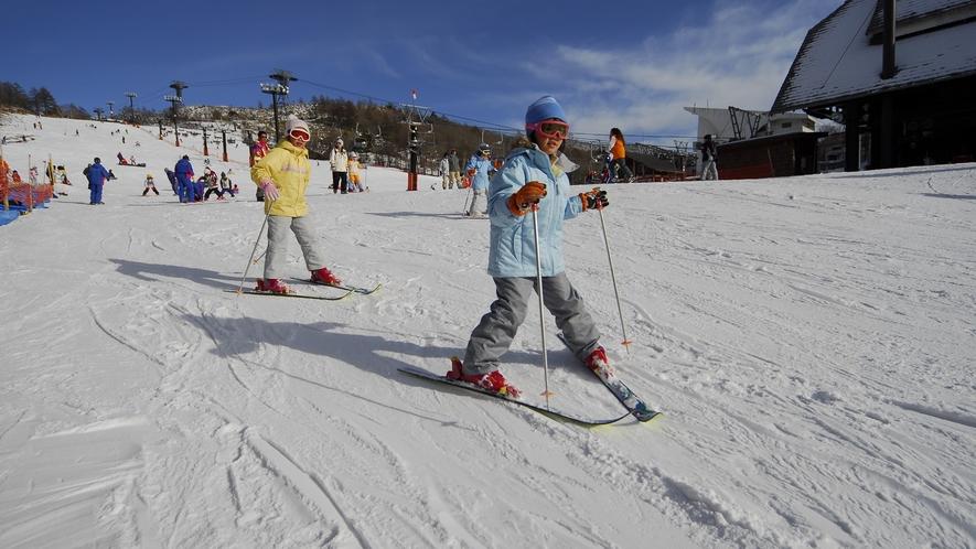 ピラタス蓼科スノーリゾート◆国内屈指の標高と滑走距離を誇る総合スノーリゾート