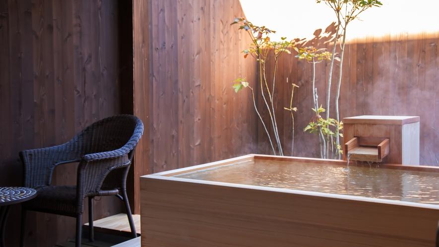 深山亭・露天風呂付き客室◆自家源泉掛け流しの露天風呂付き