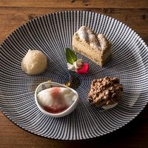 ◆蓼科 山キュイジーヌ:デザート一例
