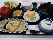 受験プラン(煮魚定食)