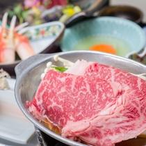 *夕食一例/ 素材を活かしたお料理をお楽しみください。