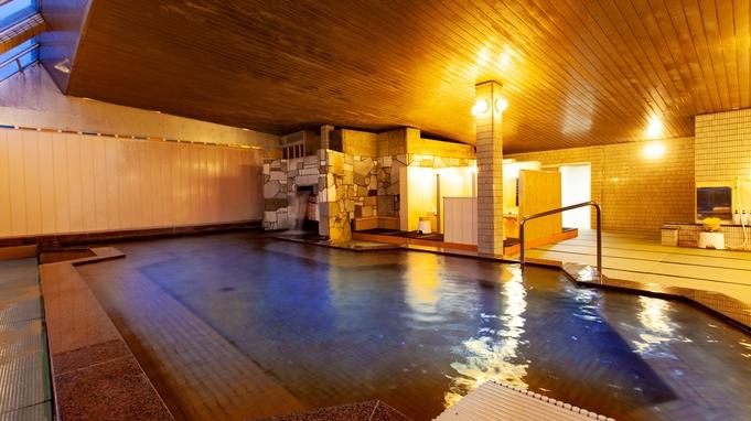 【一泊朝食付き】チェックインは23時までOK♪テレビにも取り上げられた★北関東最大級の『畳風呂』