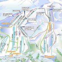 猪苗代スキー場マップ