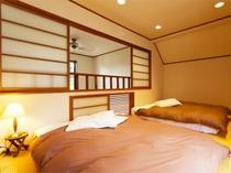 戸建てスイート2LDK寝室