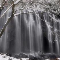 雪の不動滝:一例