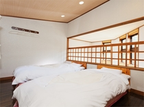 連棟スタンダード2LDK寝室一例