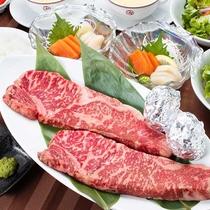 贅沢ディナー国産牛ステーキ