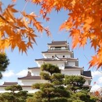 秋の鶴ヶ城