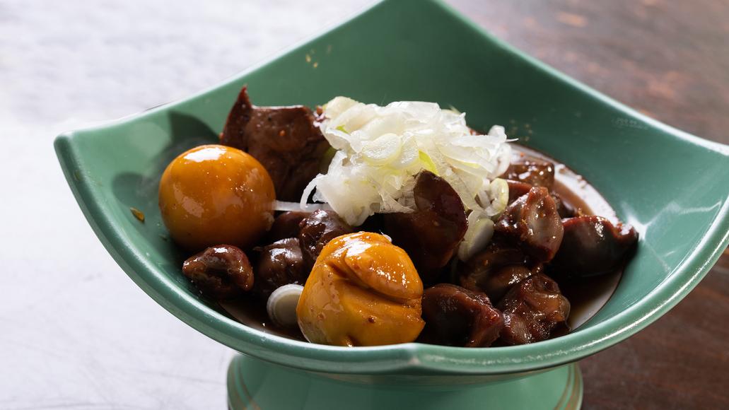 *[生そば処 らくすいメニュー一例]宿屋で「甲府鳥もつ煮」を提供できるのは蕎麦屋併設の当館だけ!