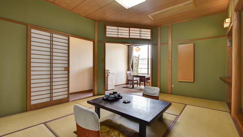 *[スタンダード和室一例]落ち着いた雰囲気の和室8〜12畳(ユニットバス付)のスタンダードな客室